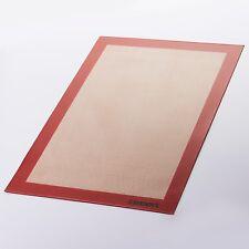"2-Pack Steadys MA-0102FG Non-Stick Silicone Baking Mat-Half Size 16.6"" x 11.5"""