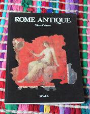1985 Rome Antique vie culture  Franchi Dell'Or Italie voyage antiquité histoire