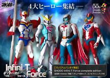 PREMIUM Bandai SHODO INFINI-T FORCE COMPLETE EDITION Figure Set of 4