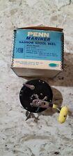 Vintage Penn 149M Mariner Fishing Reel With Box