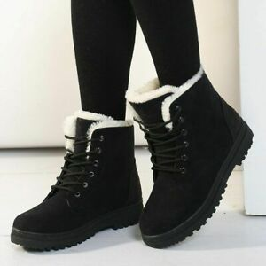 Women Boots Snow Boot For Women Winter Shoes Heels Winter Boots Ankle Warm Shoes