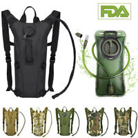 3L Water Bladder Bag Hydration Packs Sports Backpack Hiking Camping Outdoor