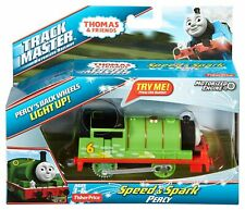 Thomas & Friends SPEED AND SPARK PERCY ENGINE TrackMaster Toy Train