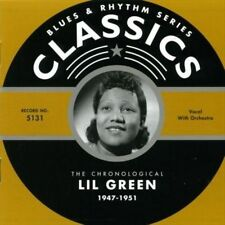 LIL GREEN 1947-51 CLASSICS CD NEW SEALED LONG OUT OF PRINT