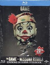 The Game - Blu-Ray Steelbook - Michael Douglas - 1997