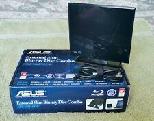 ASUS SBC-06D1S-U EXTERNAL SLIM BLU-RAY DISC COMBO USED.