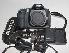 Canon EOS 10D 6.3MP Digital SLR Camera - Black with EF 28-90mm  Lens