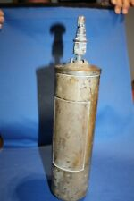 OLD Brass Fire Extinguisher It is EMPTY of contents