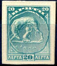 KRETA 1905 22 auf Kartonpapier aus Geschenkheft (J2059