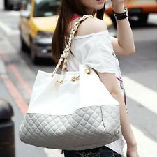 Fashion Women Ladies Handbag Chain PU Leather Shoulder Tote Bag Messenger Bag