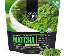 Matcha Green Tea Powder, Authentic Japanese Origin Culinary Grade 1 oz (30g)