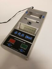 Chronoprinter 500 Thermal Printer by Tag Heuer of Switzerland OEM Leather case