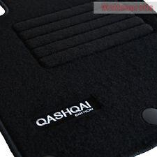 MP Velours Logo Fußmatten Autoteppiche für Nissan Qashqai II J11 ab Bj.02/2014 -