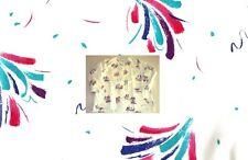 NEW Scrubs ~ Print Scrub Jacket ~ SMALL ~ Brush Strokes