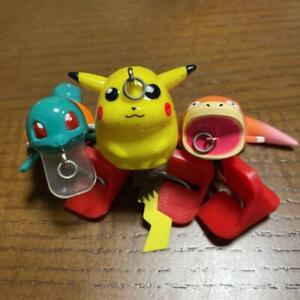 Pokemon Lure Set of 3 Pikachu Squirtle Slowpoke  Free Shipping from Japan