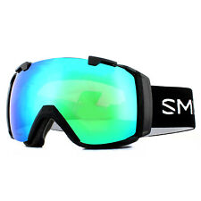 Smith Ski Goggles I/O M006389PC99MK Black Chromapop Sun Green Mirror & Rose Flas