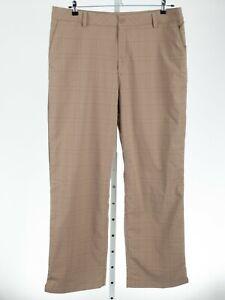 Under Armour UA Heatgear Beige Plaid Golf Pants 40 x 32