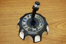NEW BLACK CNC BILLET FUEL GAS CAP YAMAHA YZ250 YZ125 YZ 250 125 2002-10 I GC12
