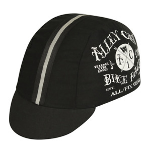 ALLEY CAT CLASSIC BICYCLE BIKE CYCLING CAP BEANIE HAT BLACK