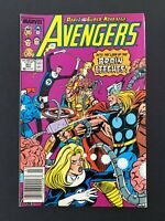 AVENGERS #301 MARVEL COMICS 1989 VF+ NEWSSTAND EDITION