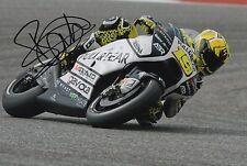 Alvaro Bautista mano firmado Pull & Bear Aspar Ducati 12x8 Foto 2017 MotoGP 3.