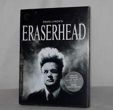 Eraserhead David Lynch Director Approved Criterion Collection Region 1 DVD set