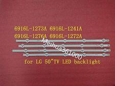 "4 PCS for LG LED strips 50""ROW 2.1 6916L-1272A/1241A /1273A/1276A"