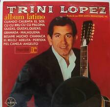 TRINI LOPEZ Album Latino VINYL LP GX01129 MEXICAN PRESS