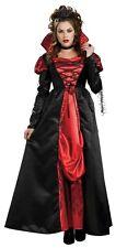 Halloween Fancy Dress Costume ~ señoras Transilvania Vampiress Med Talla 12