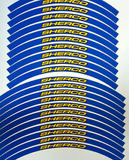 SHERCO RIM STICKERS DECALS GRAPHICS TAPES TO FIT 65 85 125 250 300 350 450