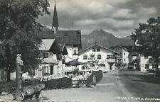 AK/Postcard:  SEEFELD IN TIROL - Dorfstraße (1961)