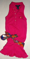 NEUF RALPH LAUREN fuchsia Barboteuse robe - Taille 5 ans authentique