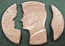 FOLDING COINS - half dollar MAGIC TRICK CLOSE UP!