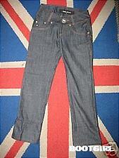 Nos Miss Sixty Boyfriend Blue Jeans Hipp Huggers Low Slung Deep Pockets 28