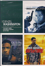 DENZEL WASHINGTON COLLECTION (Mighty Quinn/For Queen and Country/Out of Time)NEW