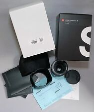 Leica Summarit-S 70/2.5 ASPH Lens for S2 S Type 006 007 SL Camera New AF Motor