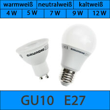 Grundig LED GU10 E27 Leuchtmittel Lampe Sparlampe warmweiß neutralweiß warmweiß