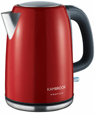 Stainless Kettle  Rapid Boil  Safety Locking Hinged Lid 1.7 Litre  2200W