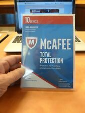 New! McAfee Total Protection ☆ 10 Devices ☆ Mac,PC,Smartphones &Tablets