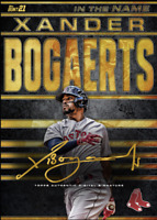 2021 Topps BUNT Xander Bogaerts In The Name Gold Signature ICONIC! DIGITAL CARD