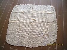 Wool Hand Knitted Table Cloth set of 2