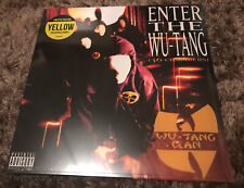 WU-TANG CLAN - Enter The Wu-Tang (36 Chambers) Ltd YELLOW Vinyl LP NEW & SEALED