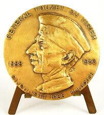 Médaille au Général de cavalerie Jean Touzet du Vigier 1e division blindée Medal