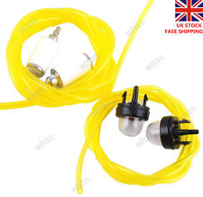 Fuel Lines with Fuel Filter & Primer Bulb for Tygon Craftsman Poulan Chainsaw