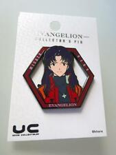 Neon Genesis Evangelion Misato Character Collector Pin New Mint