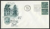 #1059 4 1/2c The Hermitage-Pair, Artmaster-Addressed FDC **ANY 4=FREE SHIPPING**
