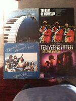 ROCK 4 vinyl OG LP lot - Brian Auger - Mountain - Quicksilver - Ten Years After