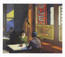 Edward Hopper 1929 CHOP SUEY Essen Zweisamkeit Kunstdruck Tisch Frau Erotik 8