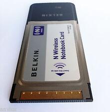 Belkin F5D8013  N Wireless MIMO Laptop PCMCIA 802.11 Notebook WIFI Network Card