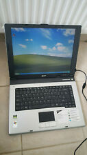 "Acer Aspire 3000 3002LC Laptop Notebook 15"" 1GB 60GB Windows XP SP4 Office SiS"